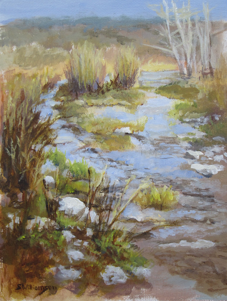 painting at Miller Springs