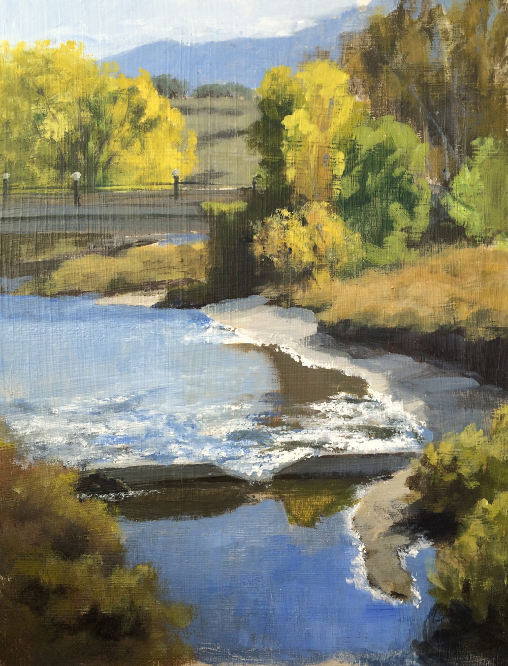 Plein air colorado springs sandy creek en plein air for Sandy creek